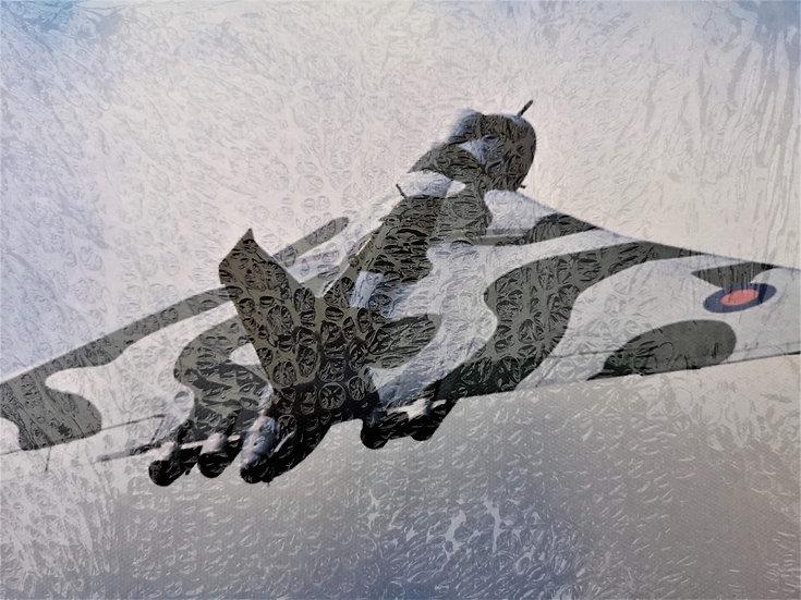 Avro Vulcan Bomber  canvas 40x30cm
