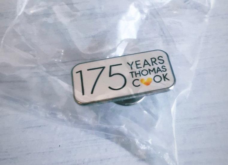 TCX 175 years pin badge