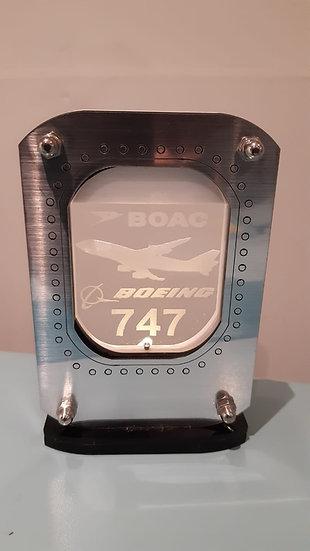 Airline customised LED window tea light holder