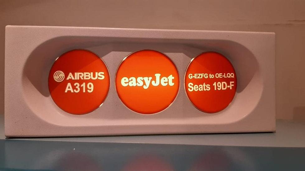 Easyjet OE-LQQ PSU desk lantern