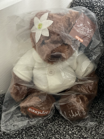 Easyjet limited edition Lilly bear