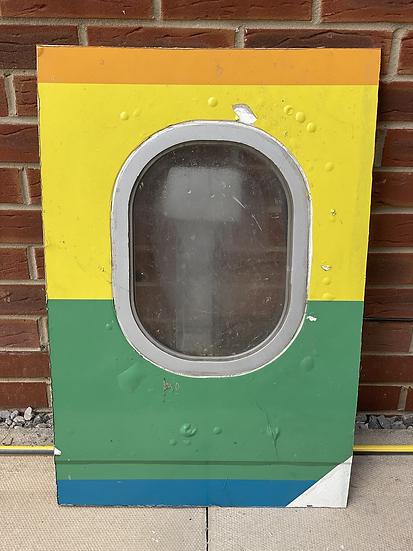 Thomas Cook G-MDBD rainbow heart window