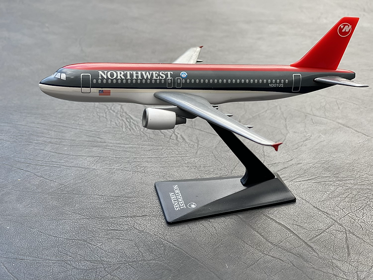 Northwest A320 aircraft model
