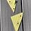 Thumbnail: RAF Tornado F3 reg ZE736 body panel triangle cut