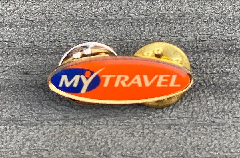 My Travel pin badge