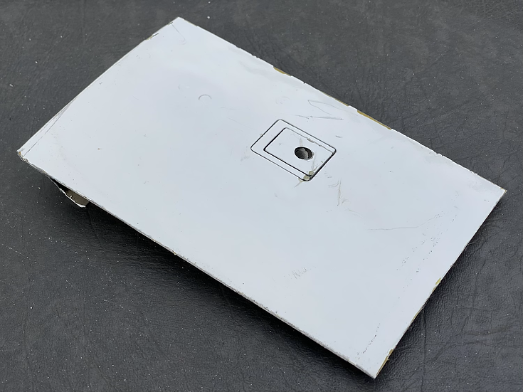 BAe125 CCA Reg ZD704 cowling section with mechanism