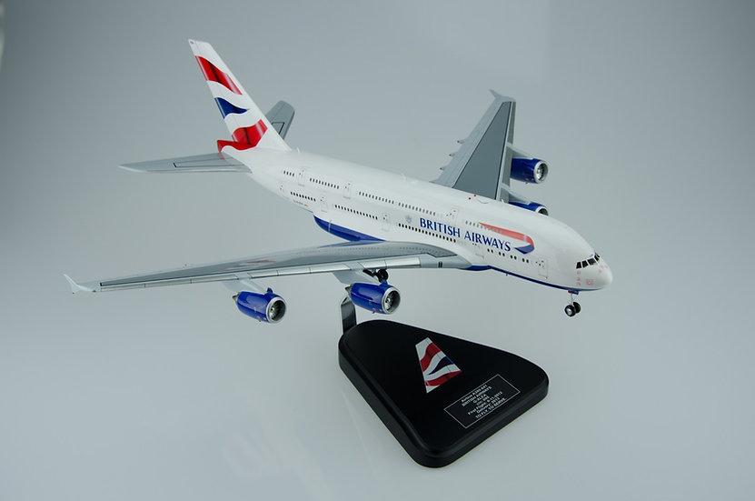 British Airways A380 1/182 model