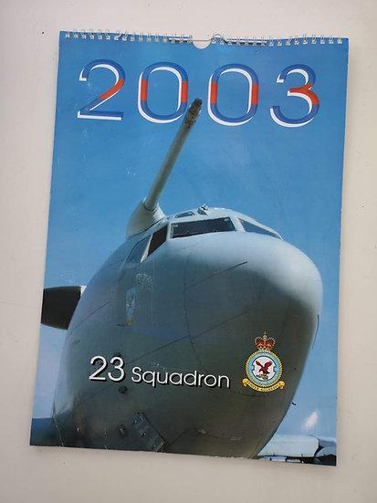 23 squadron 2003 collector's calendar