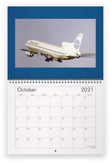 Pan Am wall calendar