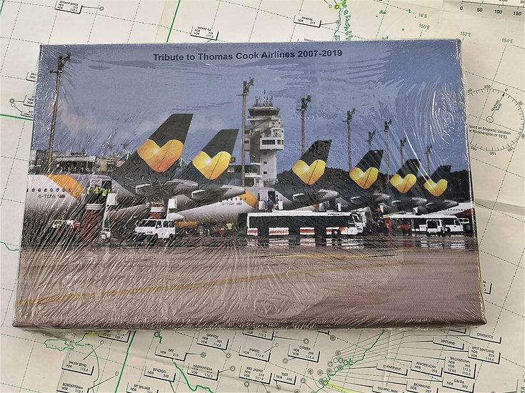 Thomas Cook tribute A330 canvas 30 x 20cm