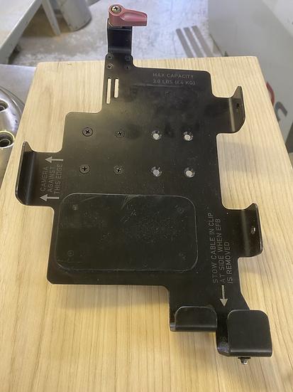 A320 flight deck tablet holder