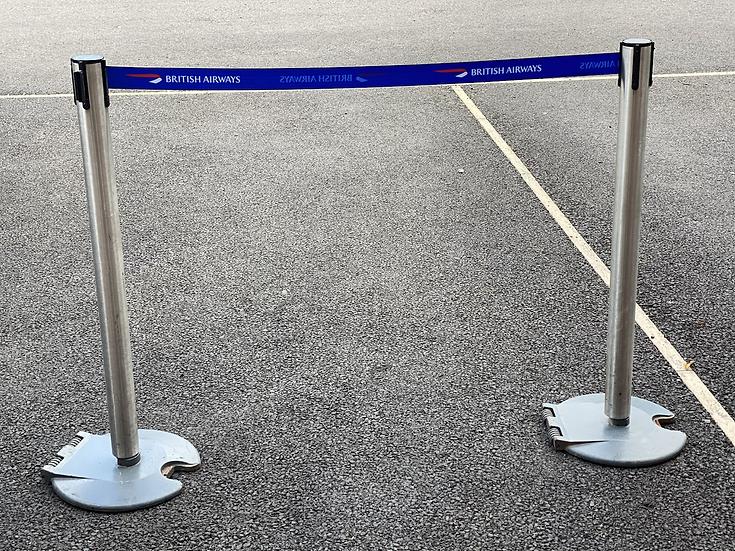 British Airways tensor barrier