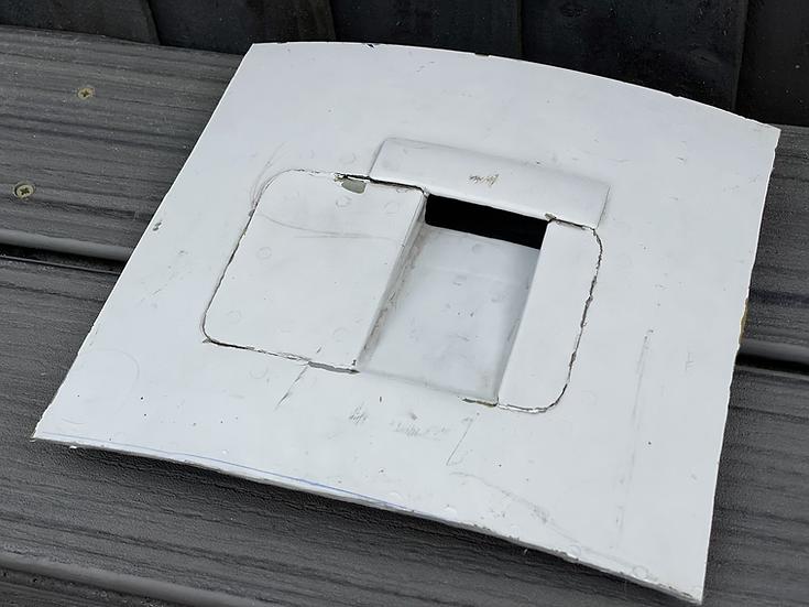 BAe125 CCA Reg ZD704 cowling vent