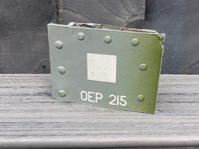 Lynx Helicopter ZG918 starboard footstep door section with numerics