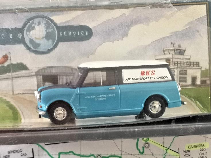 BKS Airlines Corgi mini van