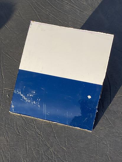 BAe125 CCA Reg ZD704 cowling Skin square white and blue