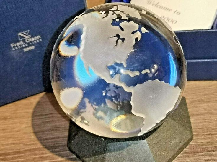 Fred Olsen Cruise Lines millenium lead Crystal Globe
