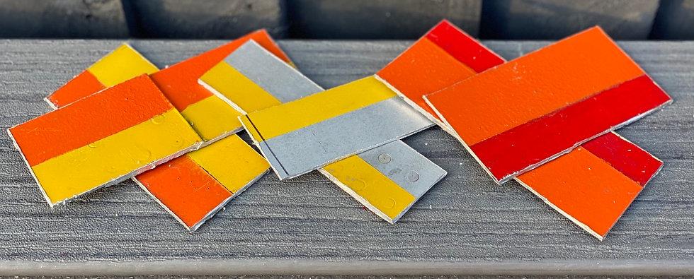 Super Guppy bi-colour off cuts