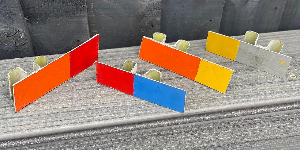 Super Guppy F-BTGV multi-colour off cuts with backing