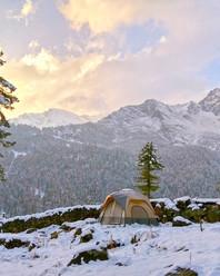 Campin'Wild - Cabin Tent - Snow