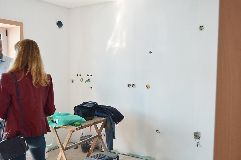 Decoração casa apartamento jardim, reunião dono de obra com o atelier de design Tangerinas & Pêssegos