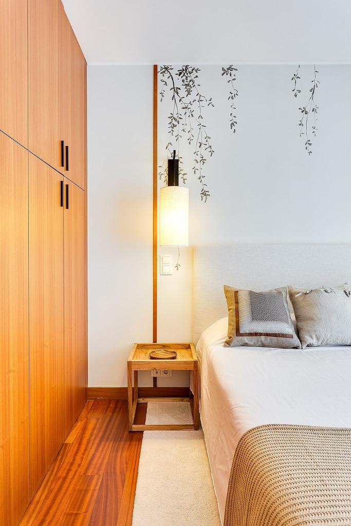 Decoração de quarto, renovado pelo atelier de design de interiores Tangerinas & Pêssegos