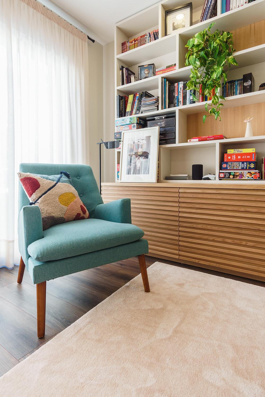 Apartamento no centro do Porto com design de interiores Tangerinas & Pêssegos.