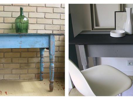 Mobiliário sustentável - peças recicladas na decoração
