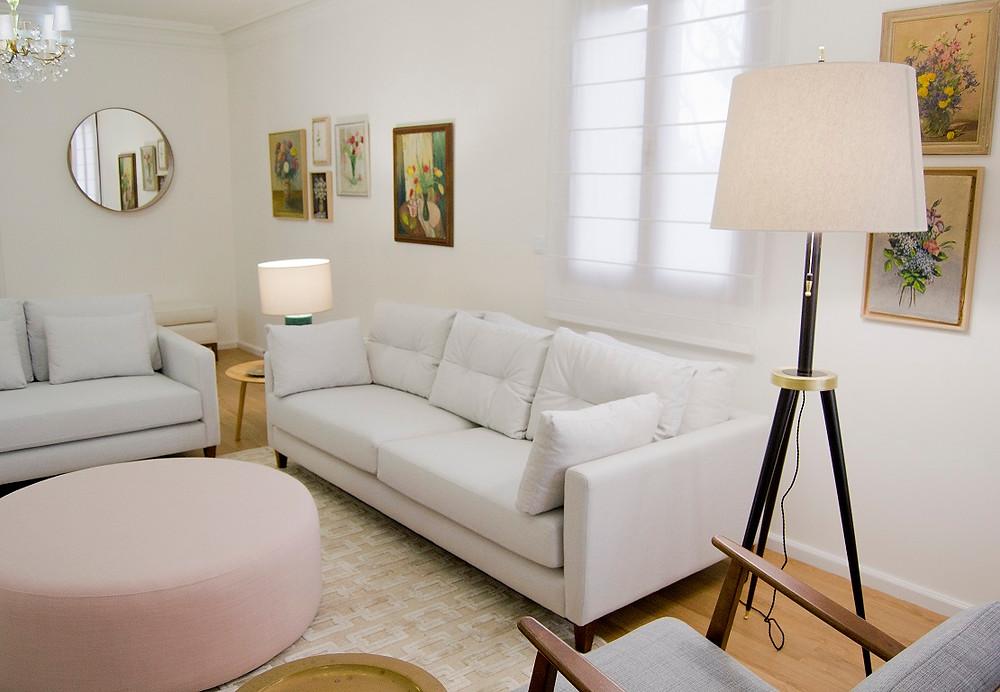 Decoração casa apartamento jardim, renovação de espaços pelo atelier de design de interiores Tangerinas & Pêssegos