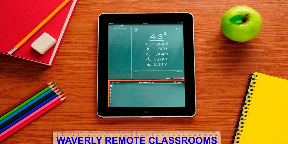 Remote Learning at Waverly