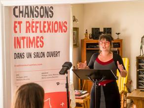 Allocution de Mélanie Boucher, lors de la conférence de Presse
