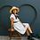 Thumbnail: Off-white Linen Shift Dress