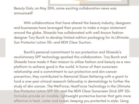 Tory Burch Shiseido Launch!