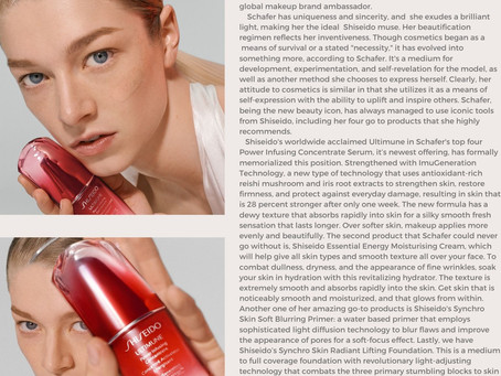Shiseido's New Muse!