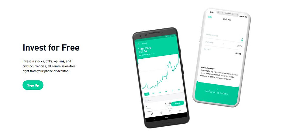 Courtesy of Robinhood. The Investing platform that has changed the way clients Invest.