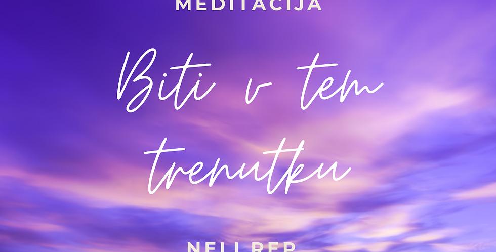 Vodena meditacija : Biti v tem trenutku