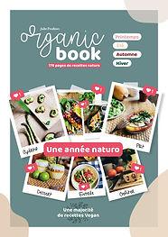 Organic book - livre de recette - couv.j