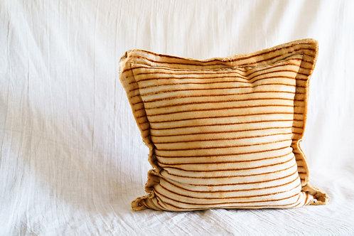 Light Striped Pillow