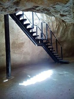 מדרגות מבט אחורי