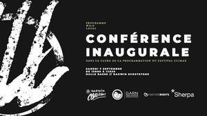 Programme Wild Legal : conférence de lancement du programme à l'occasion du festival Climax