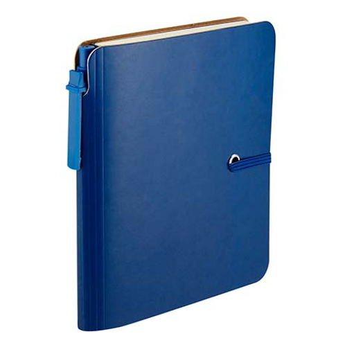 LIBRETA TOBA COLOR AZUL
