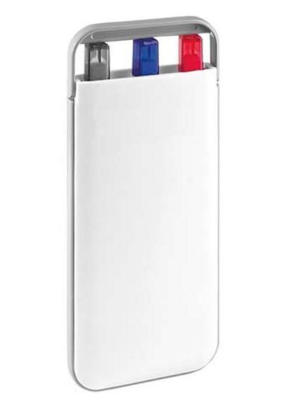 SET DURHAM (Incluye lapicera 0.5 mm y bolígrafos tinta azul y roja.)