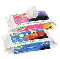 BABY WIPES 72 CT