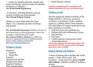 LITCDC Health & Wellness Newsletter