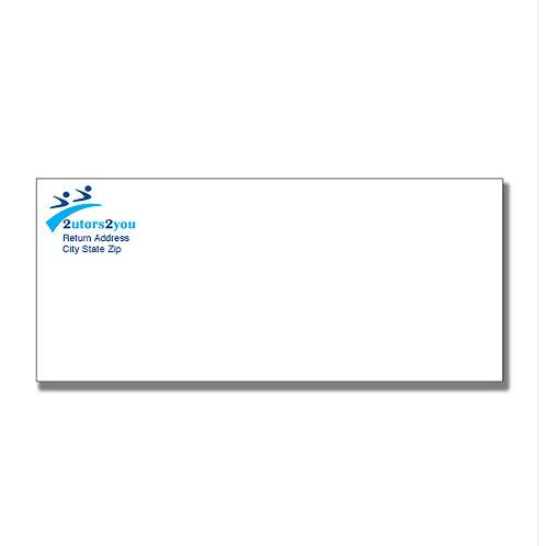 #10 Envelope, '2utors2you'