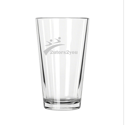 Libbey Pint Glass 16oz '2utors2you'