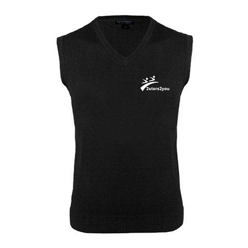 Black Fashion Sweater Vest '2utors2you'