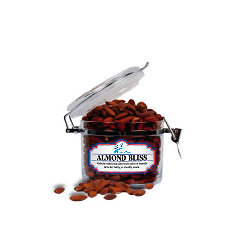 Almond Bliss Small Round Canister '2utors2you'