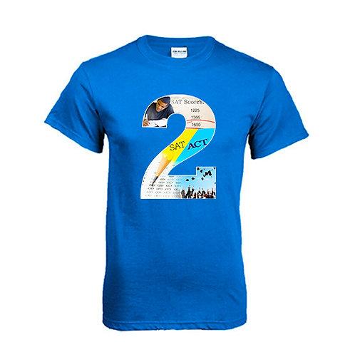 Royal T Shirt '2utors2you SAT/ACT'