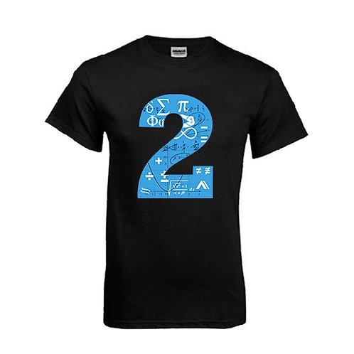 Black T Shirt '2utors2you Math'